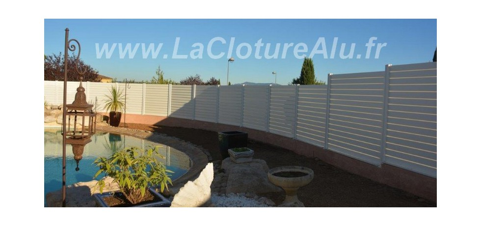 Cloture Aluminium en Kit