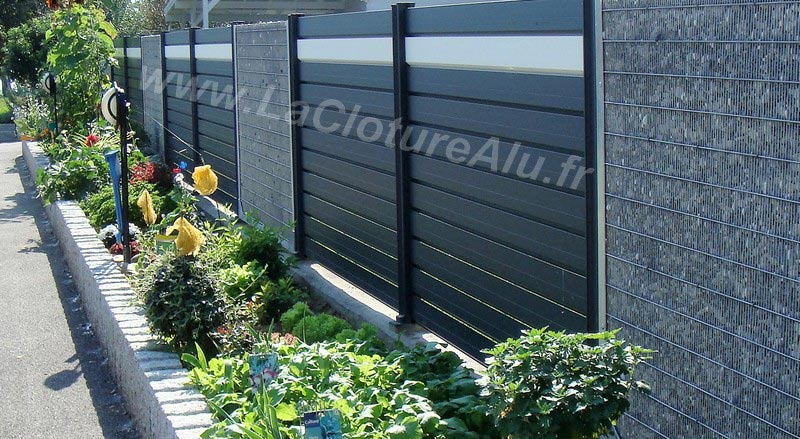 CLOTURE GRIS ANTHRACITE 7016