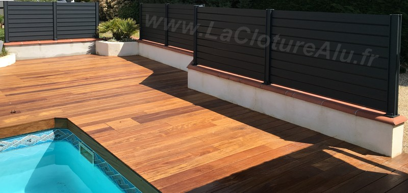 Pourquoi Installer Un Brise Vue Piscine La Cloture Alu