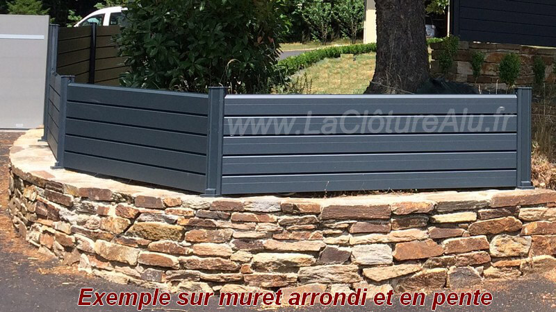 cloture de jardin aluminium. Black Bedroom Furniture Sets. Home Design Ideas